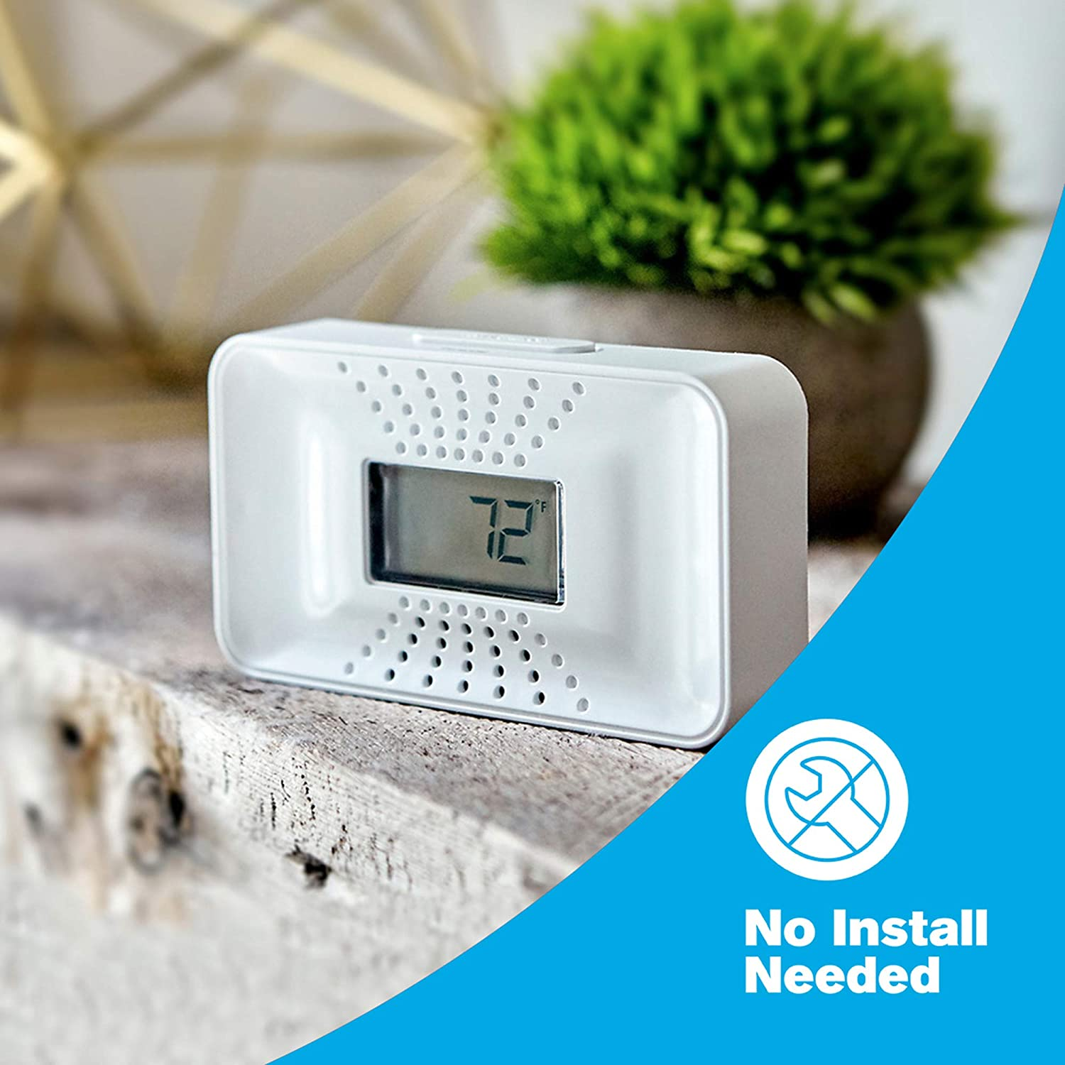 Battery Operated First Alert CO400 Carbon Monoxide Detector 2-Pack