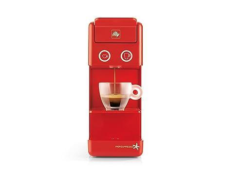 MAQUINA DE CAFÉ ILLY Modelo ILLY Y3.2 Iperespresso Color Rojo, ideal para café expreso y café americano.: Amazon.es: Hogar