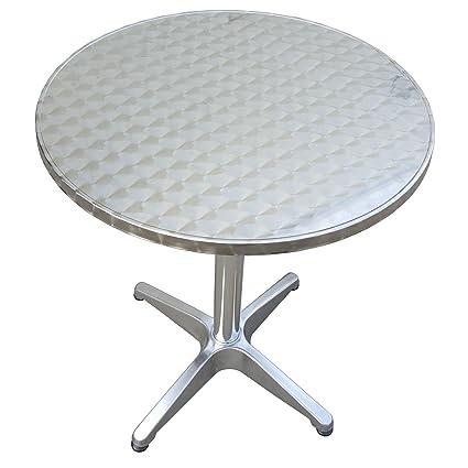 Gartentisch Rund Möbel.Macoshopde By Maco Möbel Bistrotisch Rund Aus Metall 60 Cm Beistelltisch Gartentisch Aluminium