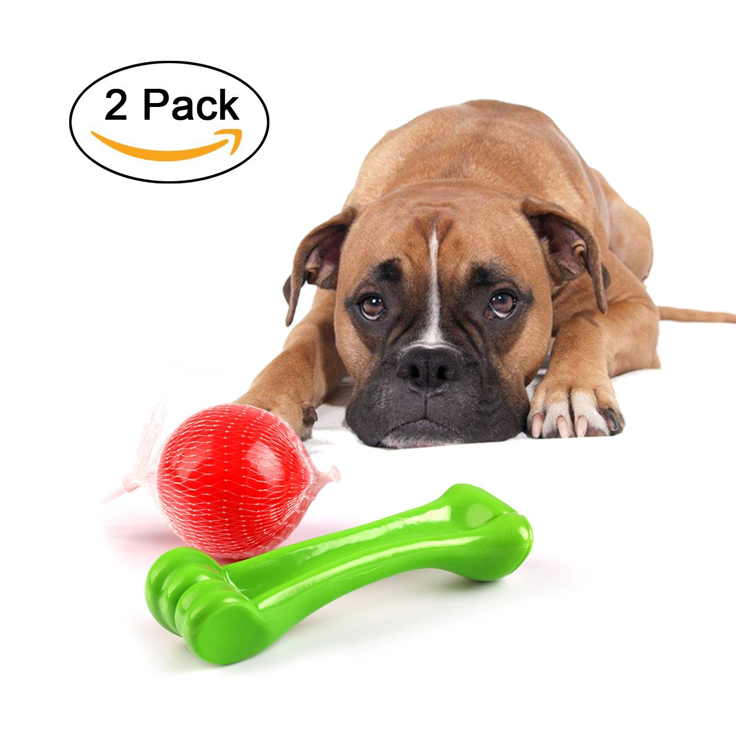 Amazon Durable Chew Toys for Aggressive Chewers Dog Toy Set