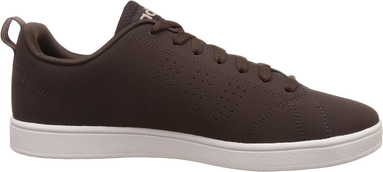 adidas Advantage Clean VS, Baskets Basses Homme Marrón Marosc Stcaqp