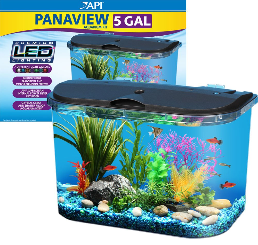 small screenshot 1 office fish. amazoncom api panaview aquarium kit with led lighting and power filter 5gallon pet supplies small screenshot 1 office fish