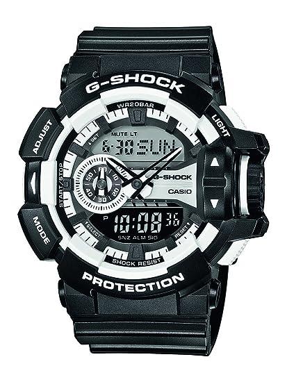 9bd8107466ad Casio Reloj de Pulsera GA-400-1AER  G-Shock  Amazon.es  Relojes