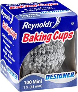 Reynolds Baking Cups - Designer - 100 Mini - 41 mm - Pack of 4