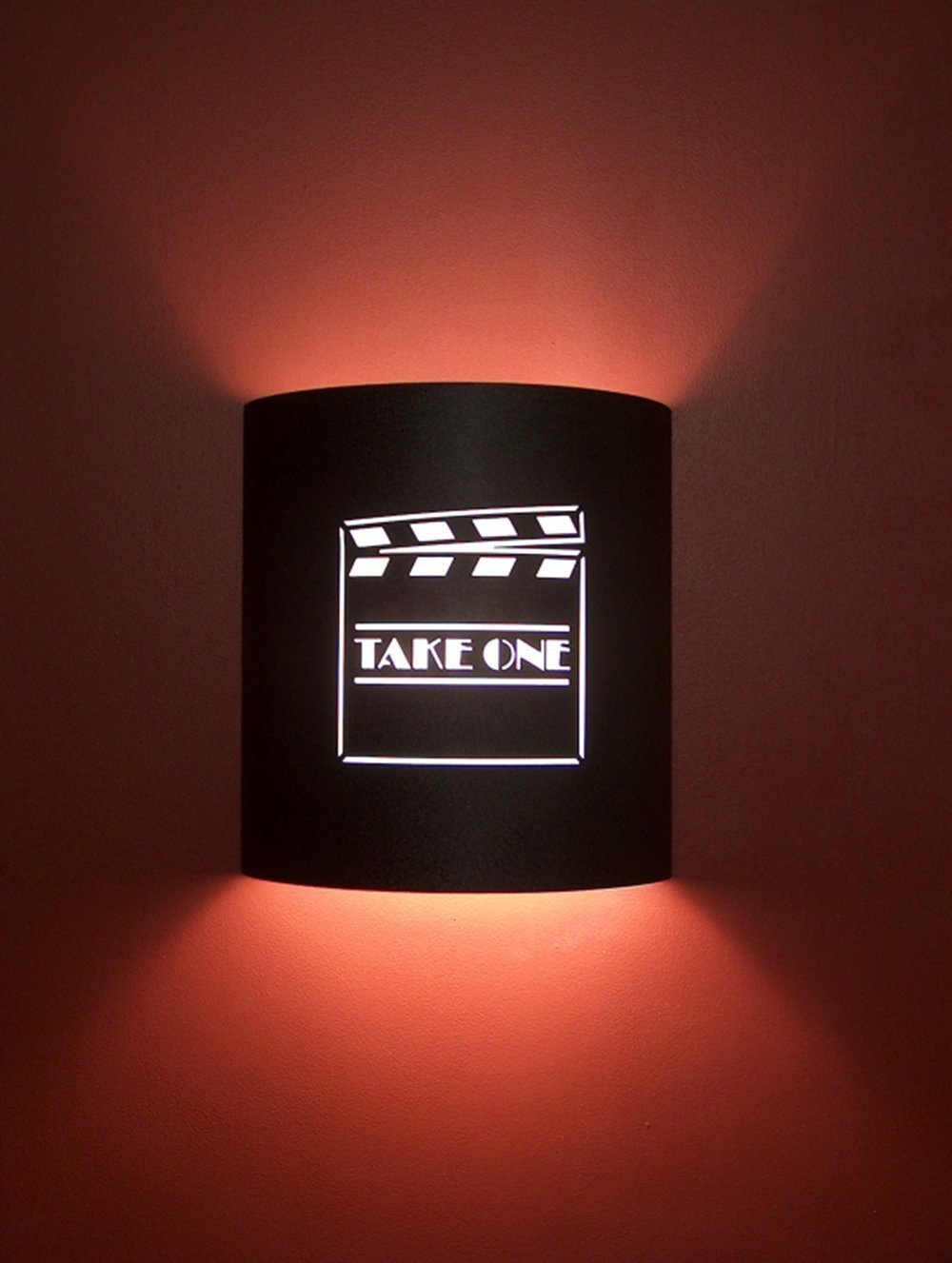 Take One Director Black Home Movie Theater Sconces