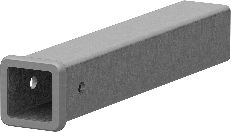 CURT 49511 2-1/2-Inch x 18-Inch Weld-On Raw Steel Trailer Hitch Receiver Tube