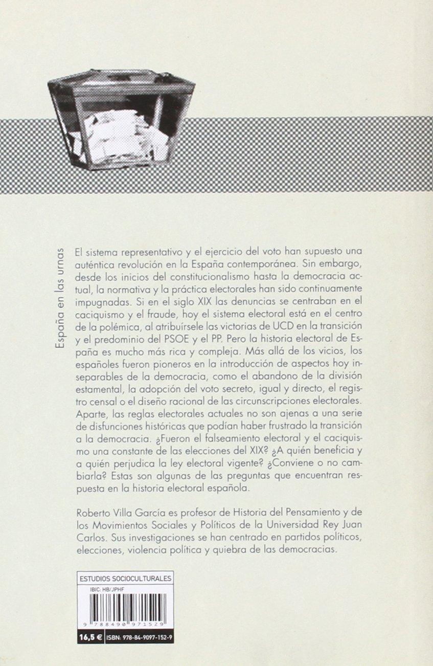 España en las urnas: Una historia electoral 1810-2015 COLECCION ...