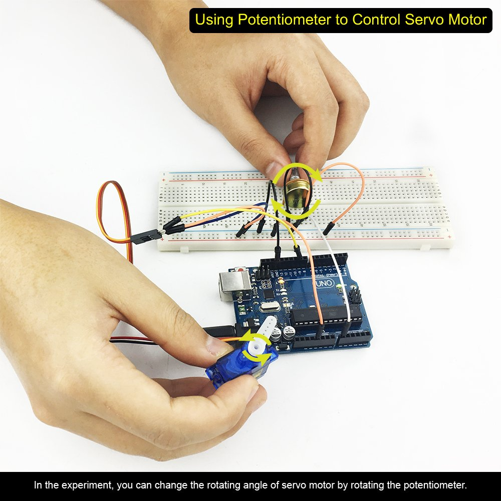 TBS2650 avec Carte UNO R3 Kit Complet Arduino de d/émarrage avanc/é avec Guide /& le/çons Photos