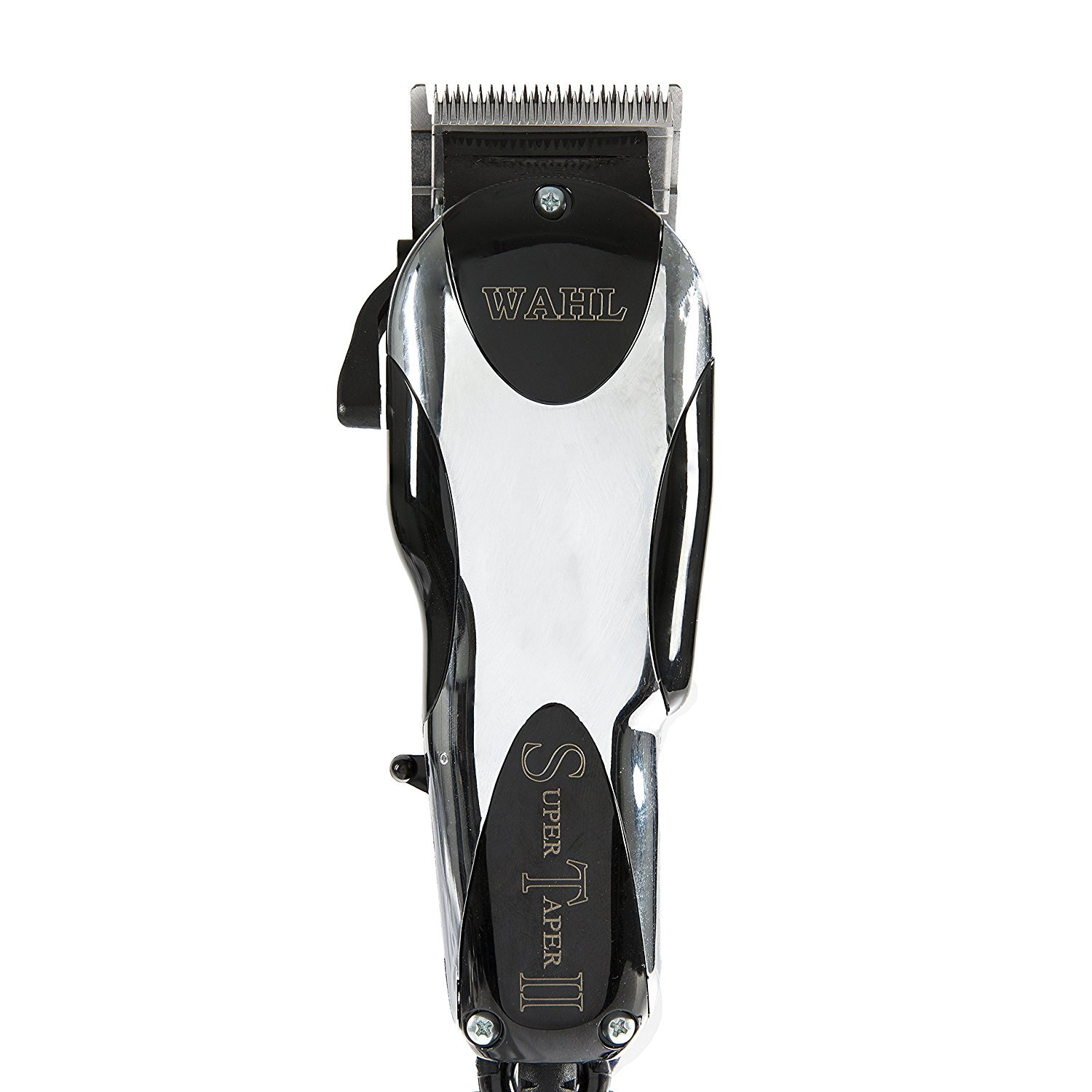 Wahl Professional Super Taper II Hair Clipper 8470-500 Ultra-Powerful Full Size Clipper V5000 Electromagnetic Motor Includes 8 Attachment Combs