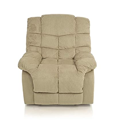 leather sofa electric heated dp bonded armchair chair recliner tm massage gaming amazon chester home