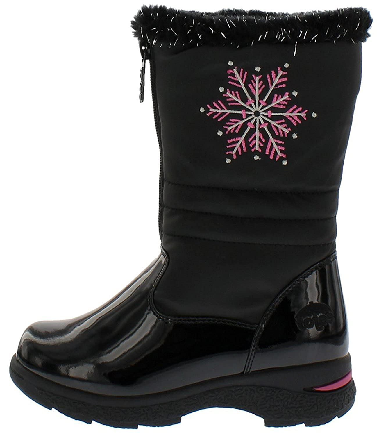 totes Girls Juno Front Zip Cold Weather Boot