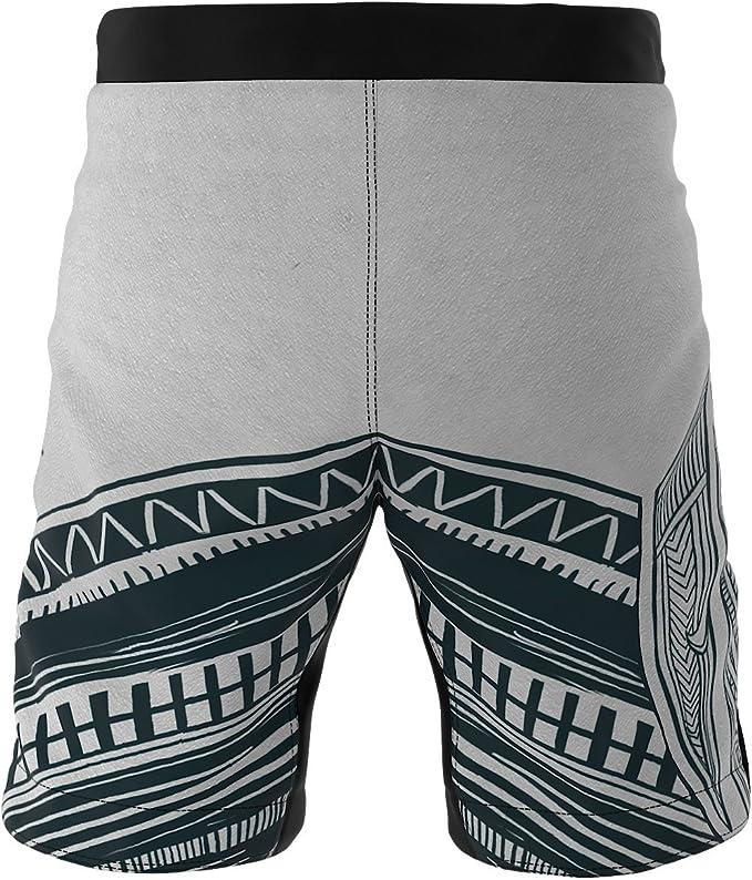 Perfetti per Arti Marziali Prodotto nellUnione Europea Pantaloni Corti da Uomo Shorts MMA SMMASH Minos Professionale Shorts Vale Tudo Traspiranti e Leggeri Krav Maga