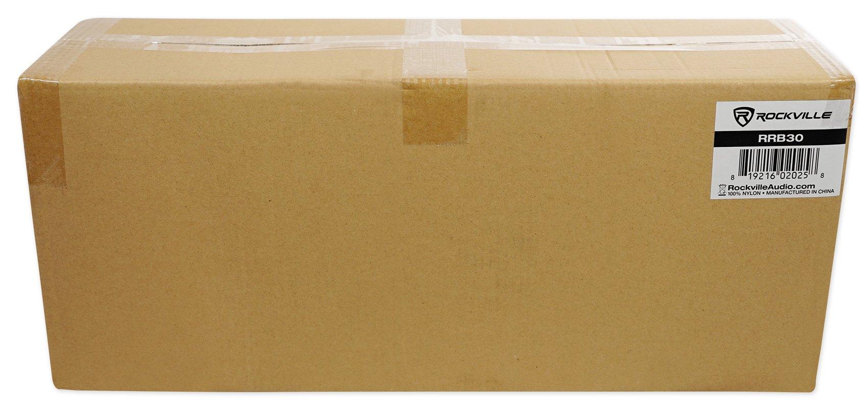 Rockville 3U Rack Bag Double-Sided Case with 12'' Depth + Shoulder Strap (RRB30) by Rockville (Image #6)