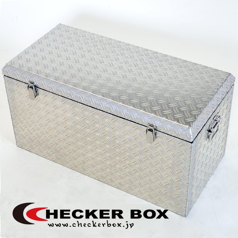 大型アルミ工具箱 幅833×奥行400×高さ435(mm) ボックス 道具箱 収納箱 B008CBVDRI