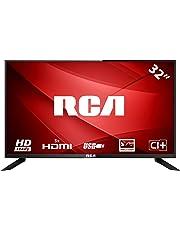 RCA RB32H1: TV LED da 80 cm (32 pollici) (HD Ready 1.366 x 768, Triple Tuner, HDMI, CI+, lettore multimediale tramite USB 2.0), nero