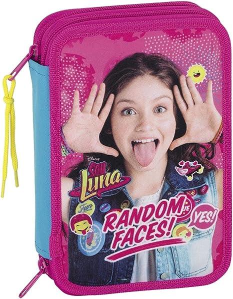 Safta Estuche Soy Luna Oficial 34 Útiles Incluidos 135x45x205mm: Amazon.es: Equipaje