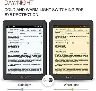 LikeBook Mars E-Reader, Pantalla Táctil De 7.8