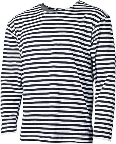Telnyashka Navy Marine Women/'s Sailor Striped T-shirt 100/% cotton Russian