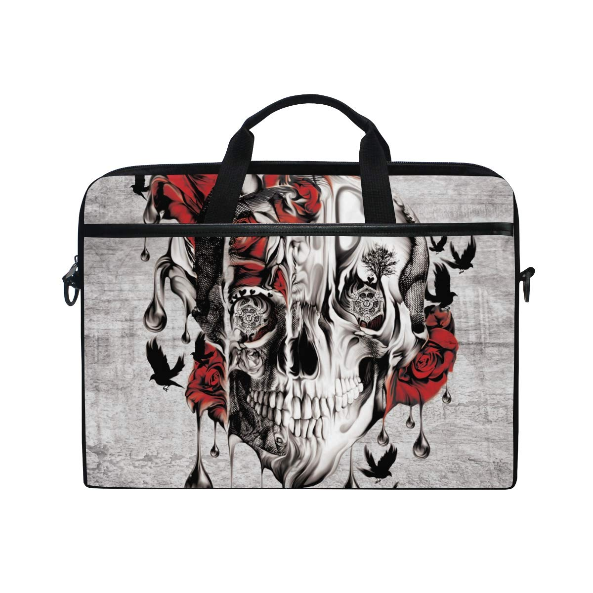Handbags Briefcases Suitable for 15 Inch Computers Personality Graffiti Mens and Womens Computer Bags Shoulder Bags