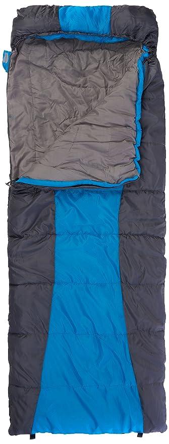 Yellowstone Trek Lite Classic 300 - Saco de dormir rectangular para acampada, color