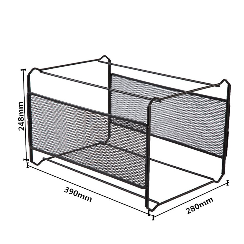Fantastic Amazon Com Bookcase Iron Net Hanging Rack Hanging Folder Home Interior And Landscaping Synyenasavecom