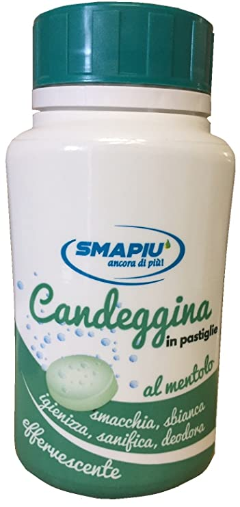 smapiu 'Bleach in Double Action Effervescent Menthol Scented Pads 40