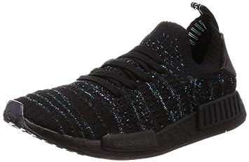detailed look a6a49 17128 adidas originals Hombres Calzado Zapatillas de Deporte NMD R1 STLT Parley  Primeknit  Amazon.es  Deportes y aire libre