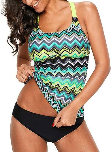 Amazon.com: Kehen Women Women's Tankini Swimsuits, Floral Tankinis with  Shorts Two Piece Swimswear Set: Clothing