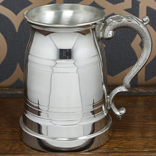 Personalised with Free Engraving English Pewter Company 1 Pint Old London Pewter Tankard EP020