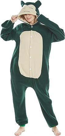 Animal Cosplay Disfraces Onesies Pijama Halloween Fiesta Unisex-Adulto Ropa de Dormir Kigurumi Mascarada