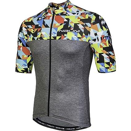 Nalini Centenario Short-Sleeve Road Bike Jersey - Men s  Arlequin Multicolor e52d5d74a