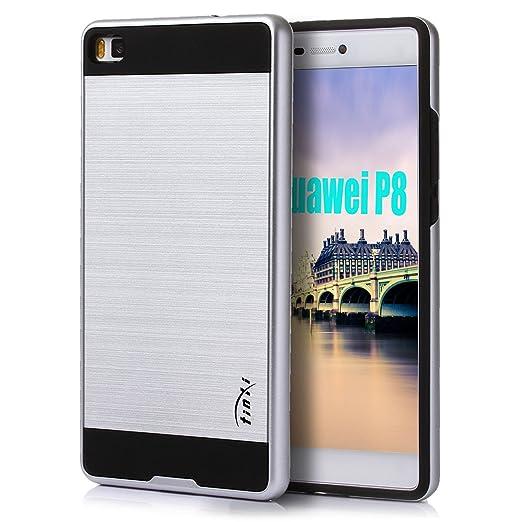 37 opinioni per Tinxi 71471 Custodia per Huawei P8, Argento