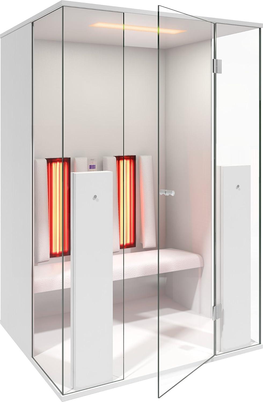 b-intense Cabina de Infrarrojos, Infrarrojos Sauna Select Line 2 para Dos Persona Color Blanco Mate by physiot Herm – Una Oferta de Welcon de Wellness. de: Amazon.es: Hogar