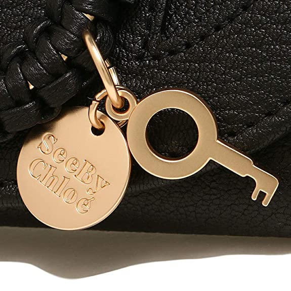 a7e839a8211e Amazon   [シーバイクロエ]折財布 レディース SEE BY CHLOE CHS17WP783 305 001 ブラック [並行輸入品]    See by Chloe(シーバイクロエ)   財布