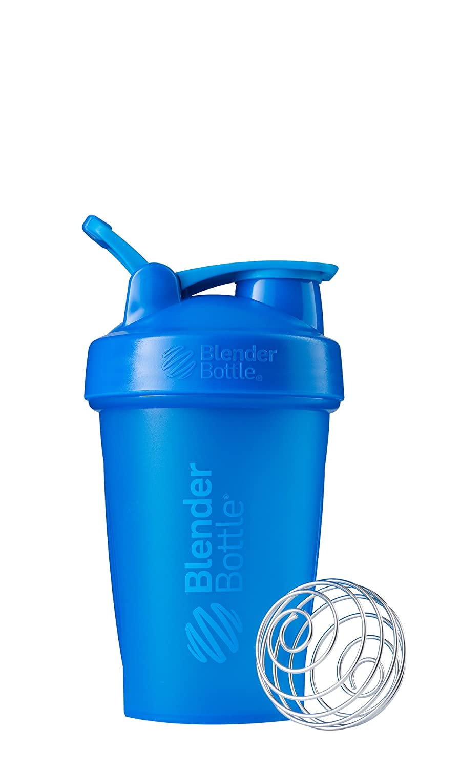 BlenderBottle Classic Loop Top Shaker Bottle, 20-Ounce, Cyan/Cyan