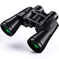 20 x 50 Binoculars For Adults, GOOLEEN HD Binoculars for Bird Watching Sport Game Fogproof Waterproof Binoculars for Climbing Hiking Hunting Travelling with BAK4 Prism FMC Lens, Carry Bag and Strap