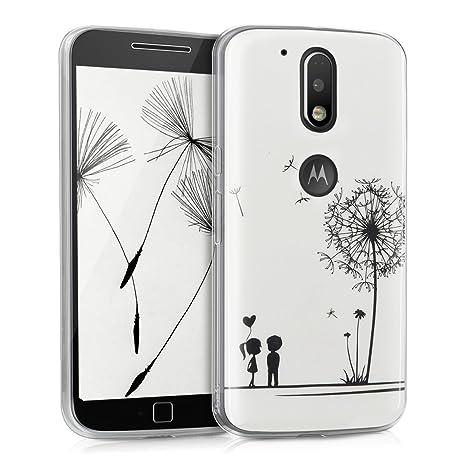 kwmobile Funda para Motorola Moto G4 / Moto G4 Plus: Amazon.es: Electrónica
