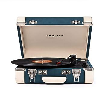 Crosley CR6019A-TL - Tocadiscos (Azul): Amazon.es: Electrónica