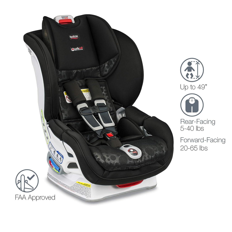Amazon Britax Marathon ClickTight Convertible Car Seat Bubbles Baby