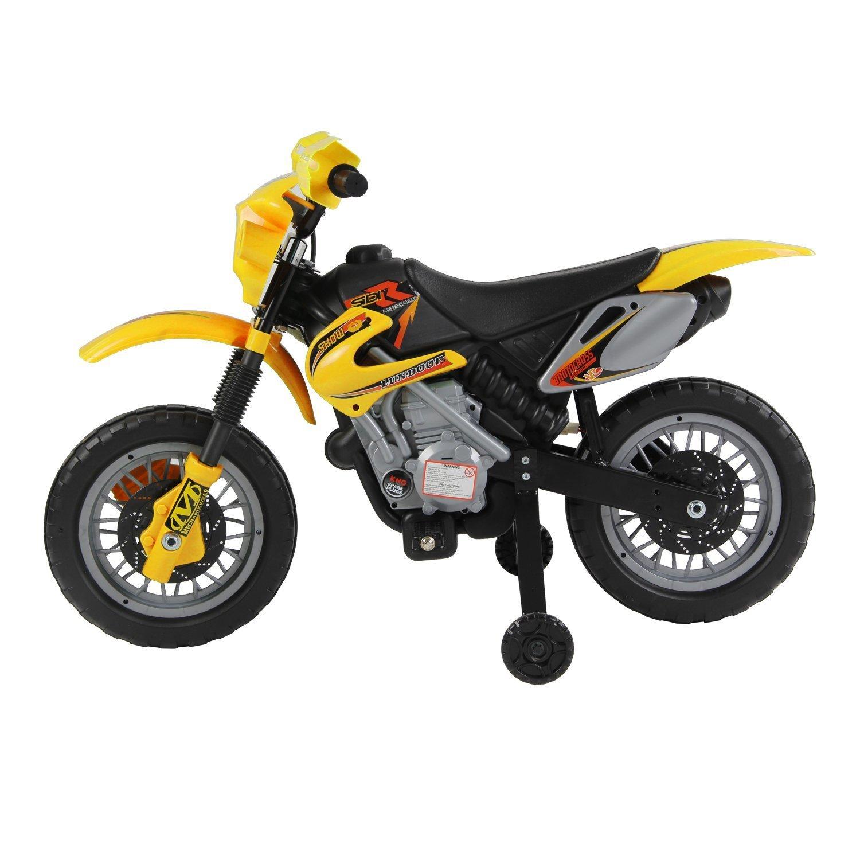 Moto Electrica Infantil Bateria Recargable Niño 3 Años Cargador 2 ...