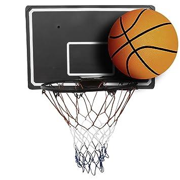 Set De Basket Ball Panneau 90 Cm Cercle Avec Filet 45 Cm