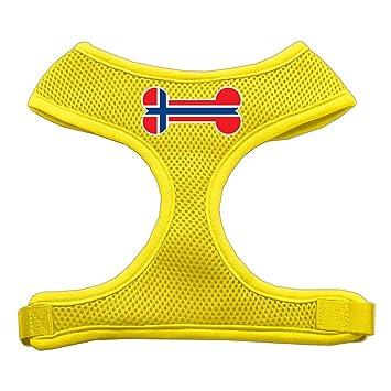 Mirage Bone Bandera Noruega Protector de impresión Suave Malla ...