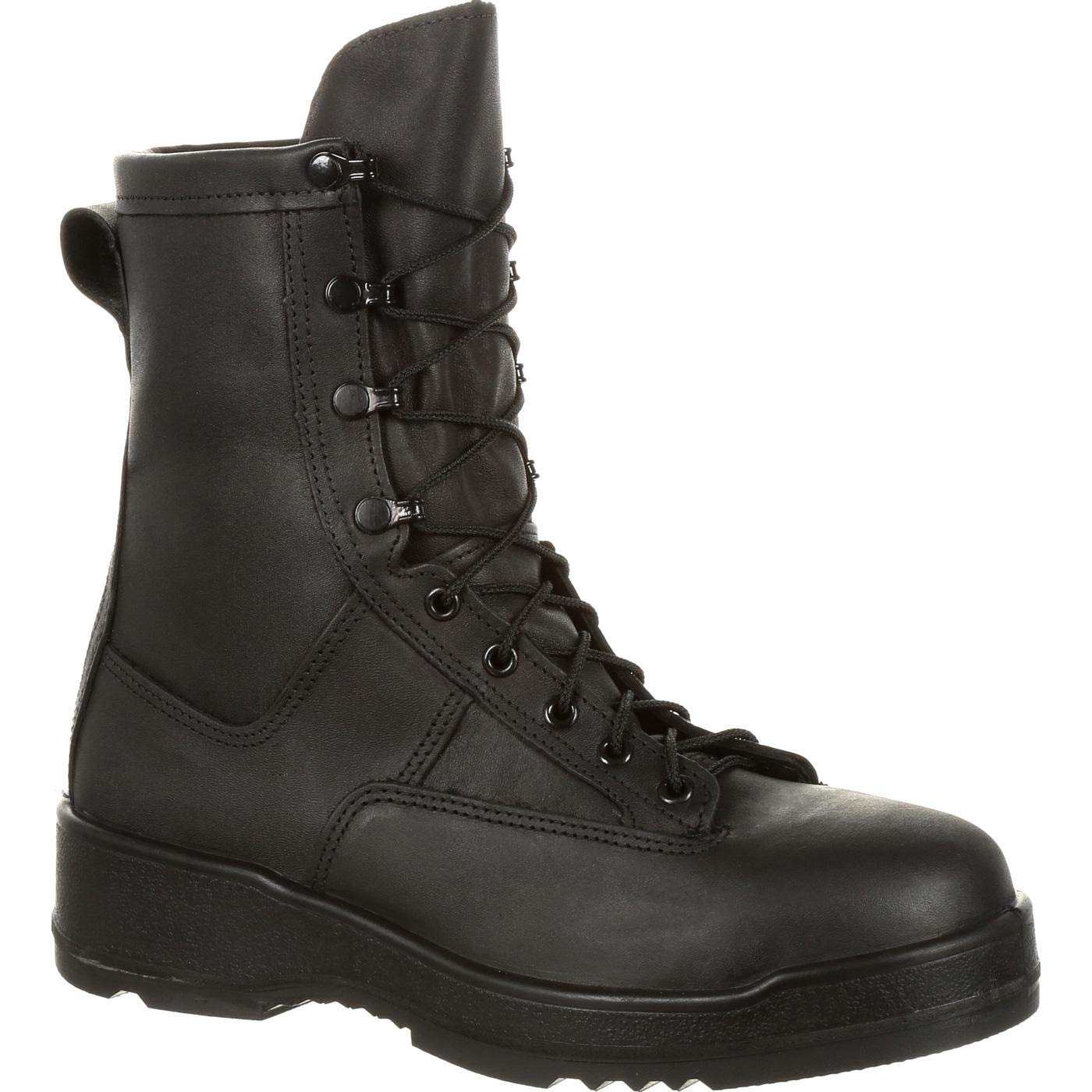 ROCKY Men's Entry Level Hot Weather Military Boot Steel Toe Black 9.5 EE by ROCKY
