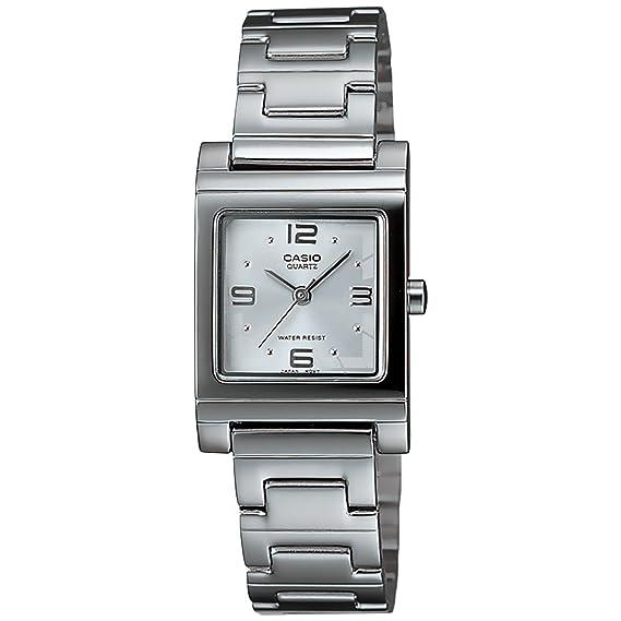 1cfff8fda129 Casio LTP-1237D-7A Reloj Análogo de Vestir para Mujer