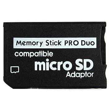 Tarjeta de Memoria Pro Duo Mini Micro- TF-MS Adapter HC Card ...