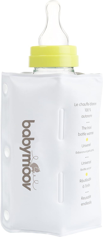 Taupe//Almond Babymoov Travel Bottle Warmer Zen