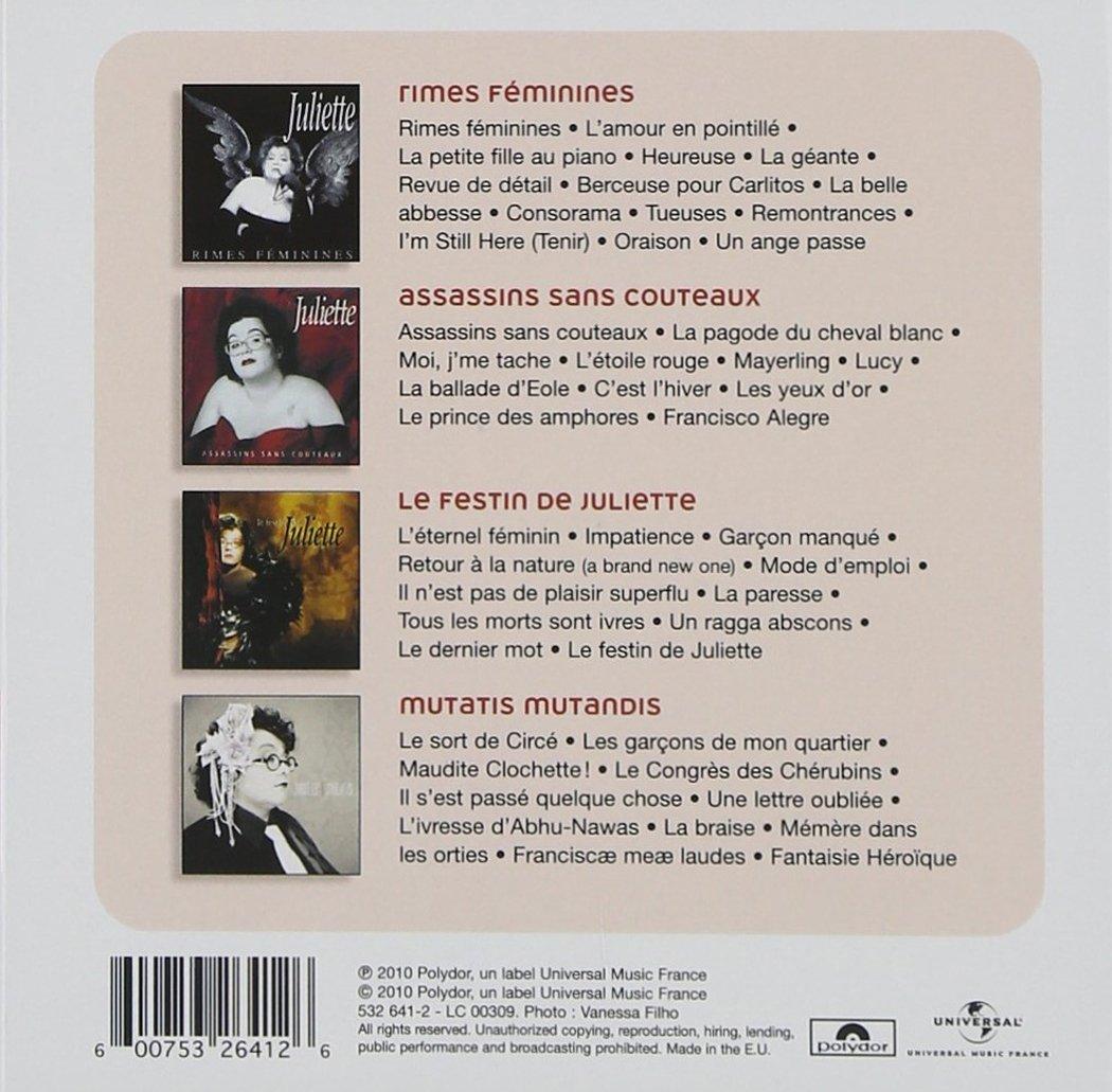 JULIETTE - 4 Original Albums - Amazon.com Music 9a7550fd8fc