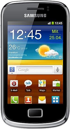 Samsung Galaxy S II Mini - Smartphone libre (pantalla táctil de 3 ...