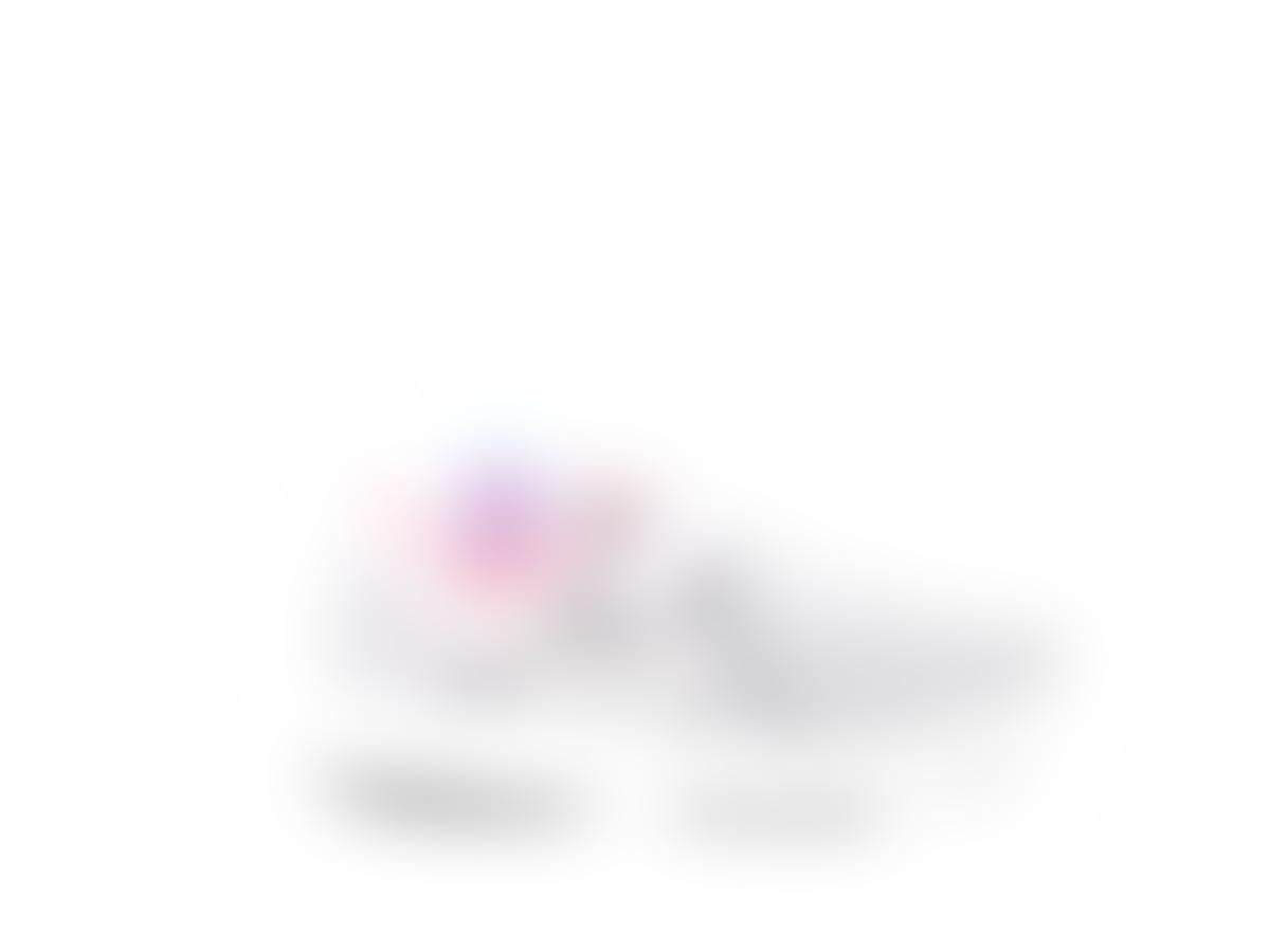 a5b327cf01 Amazon.com: Rhinestone Crystal NIKE Pink Rainbow Gray GIRLS PRESCHOOL  REVOLUTION 3: Handmade