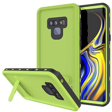 innovative design e1df1 5900d PunkCase Galaxy Note 9 Waterproof Case, [KickStud Series] [Slim Fit] [IP68  Certified] [Shockproof] [Snowproof] Armor Cover W/Built-in Kickstand + ...